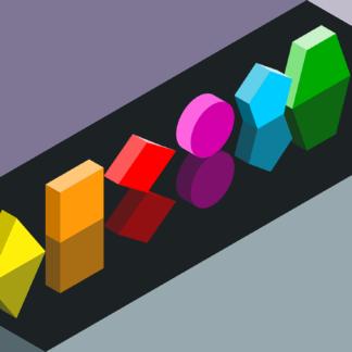 Pomoce z figurami geometrycznymi